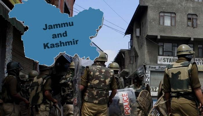 जम्मू -काश्मीरमध्ये ग्रेनेड हल्ला, ४ जवान जखमी