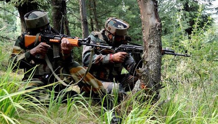 जम्मू-काश्मीरच्या त्रालमध्ये दहशतवादी हल्ला, ७ जवान जखमी