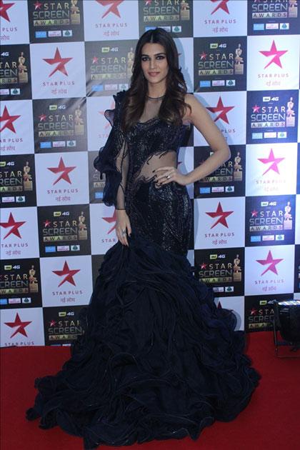 Actress Kriti Sanon at the red carpet of