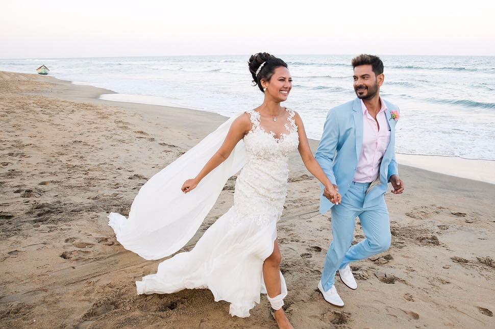 कीथ सिकेरा आणि रोशेल रावच्या लग्नाचे खास फोटो