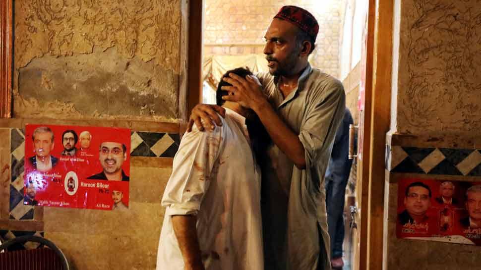 पाकिस्तानात पुन्हा एकदा आत्मघातकी हल्ला, 'एएनपी' नेत्यासहीत १४ ठार