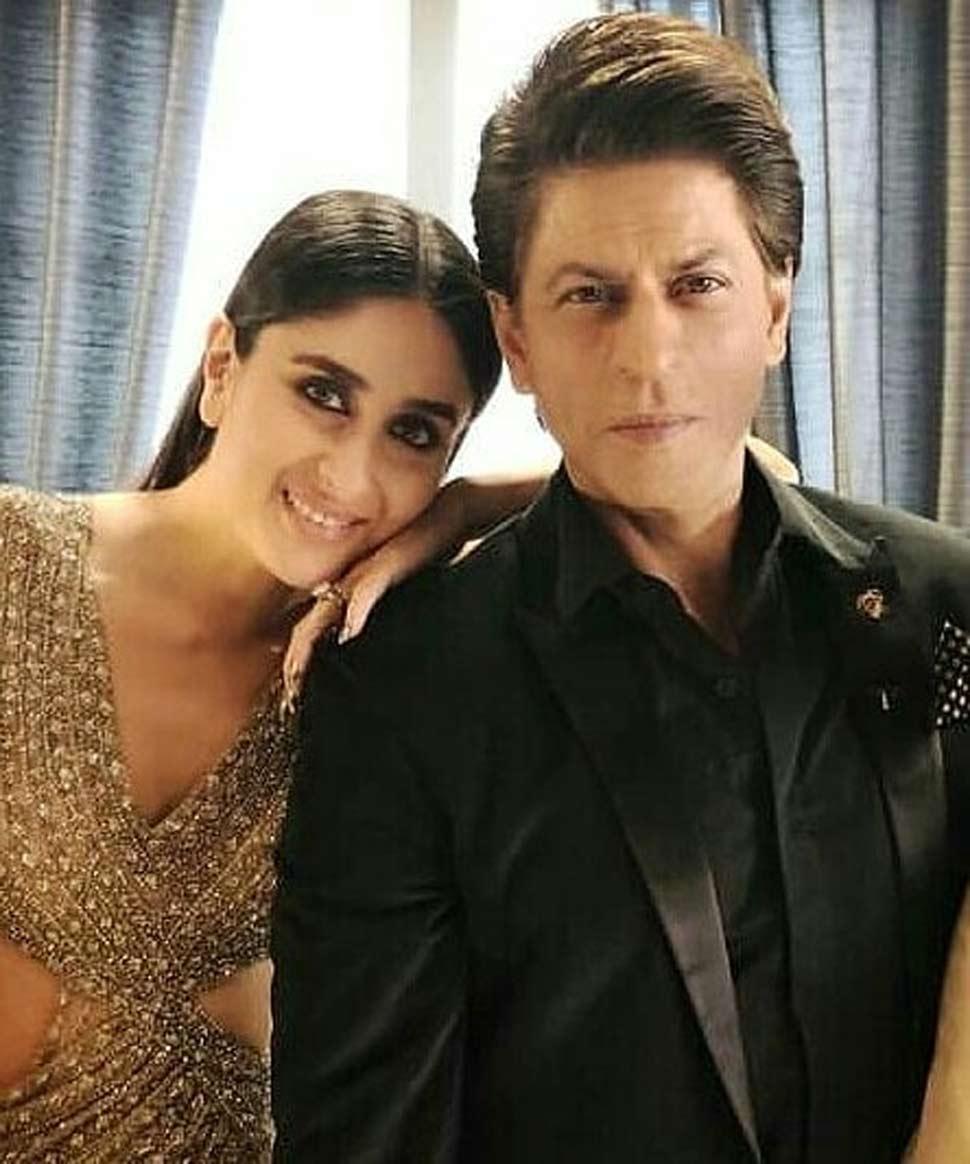 शाहरुख के साथ करीना ने रावन फिल्म में काम किया था