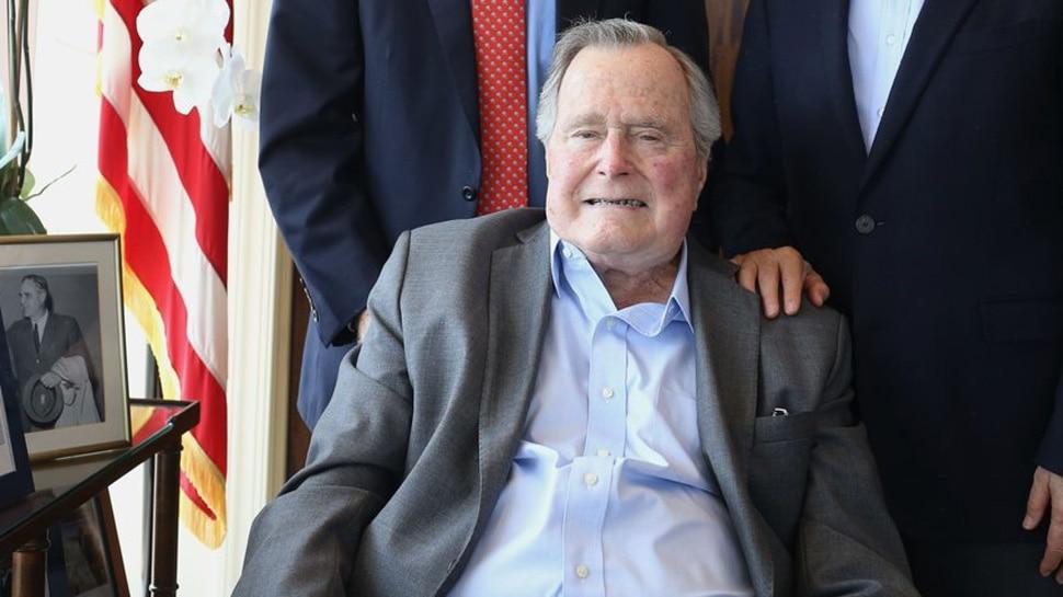 अमेरिकेचे माजी राष्ट्राध्यक्ष बुश यांचं निधन
