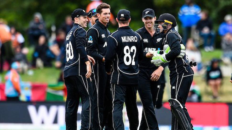 भारताविरुद्धच्या वनडे सीरिजसाठी न्यूझीलंडच्या टीमची घोषणा