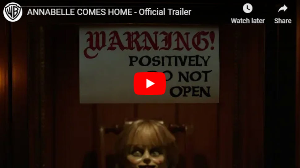 Annabelle Comes Home trailer: थरकाप उडवणारी 'ऍनाबेल' परतली अन्....