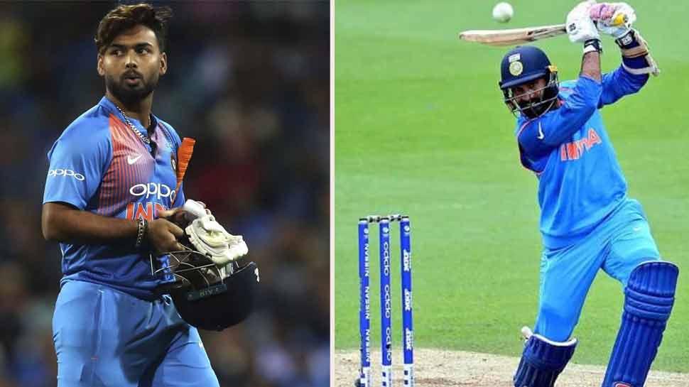 Cricket World Cup 2019: निवड समिती अध्यक्ष म्हणतात; म्हणून पंतऐवजी कार्तिकची निवड