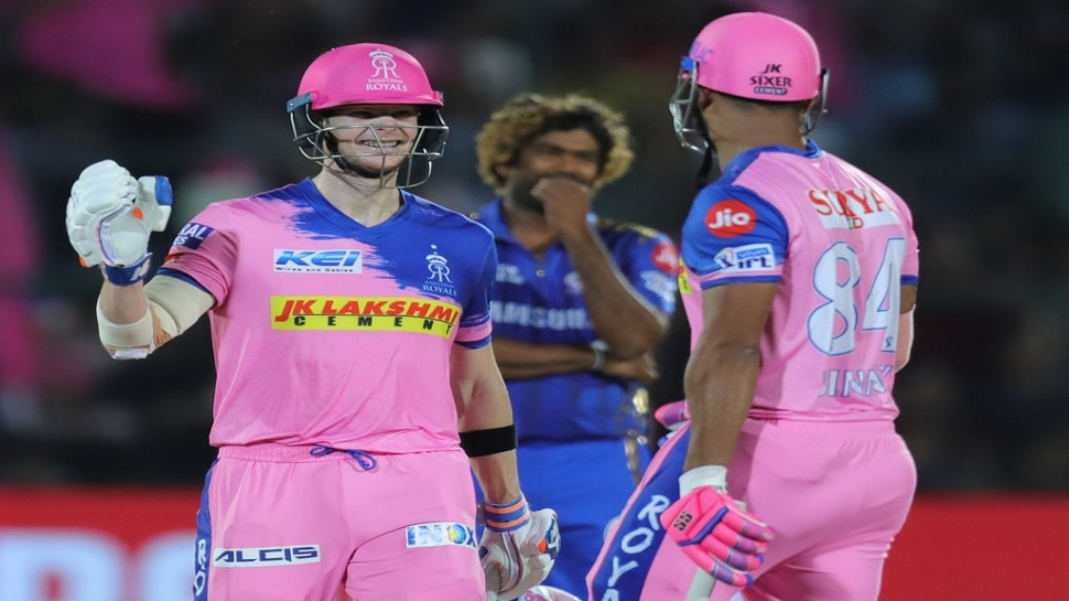 आयपीएल 2019 | राजस्थानचा मुंबईवर ५ विकेटने विजय