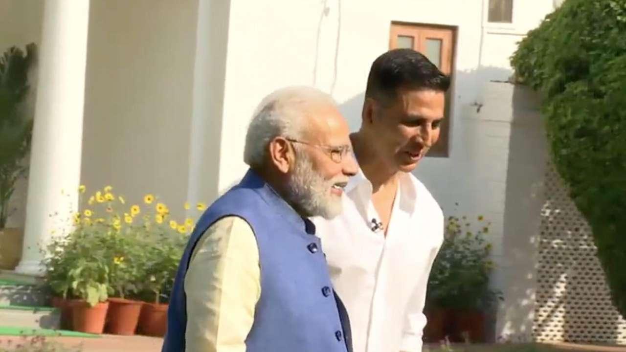 पंतप्रधान मोदींनी माझी विकेटच घेतली - अक्षय कुमार