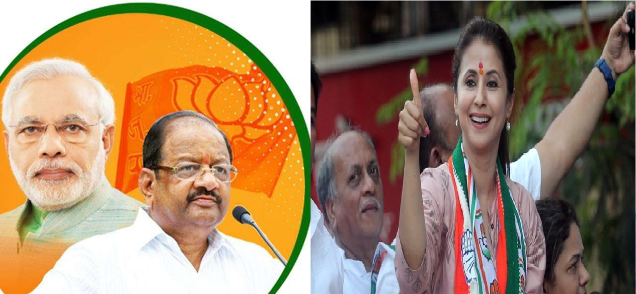 Election results 2019 : उत्तर मुंबईतून गोपाळ शेट्टींचा दणदणीत विजय; उर्मिला मातोंडकर पराभूत