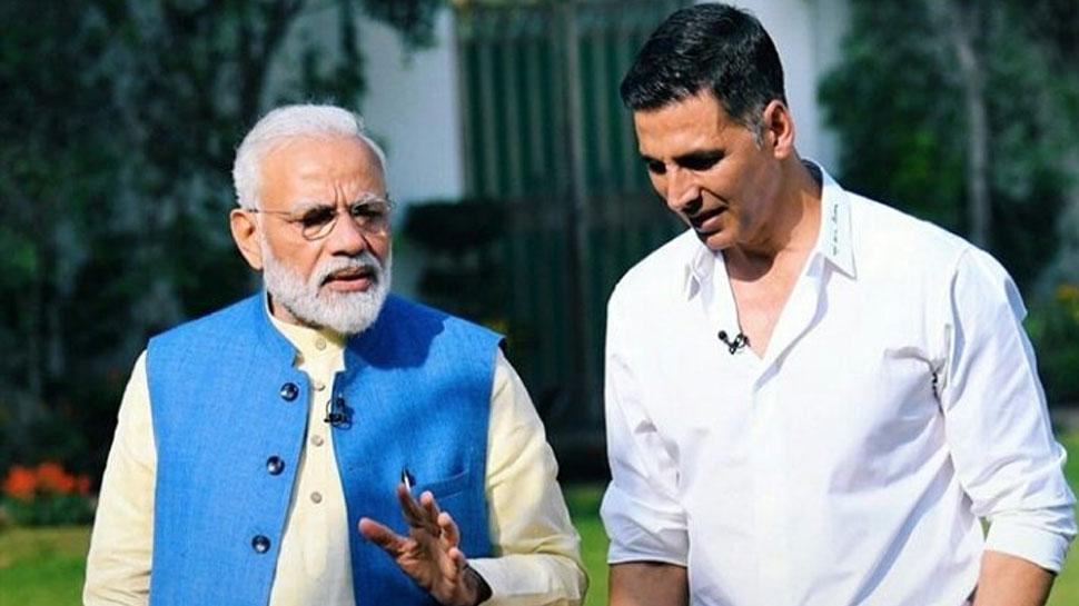 खिलाडी अक्षय कुमारने मोदींनी दिल्या विजयाच्या शुभेच्छा, म्हणाला....