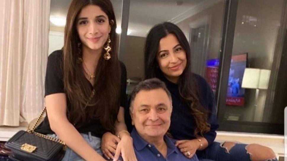 पाकिस्तानी अभिनेत्री ऋषी कपूर यांच्या भेटीला