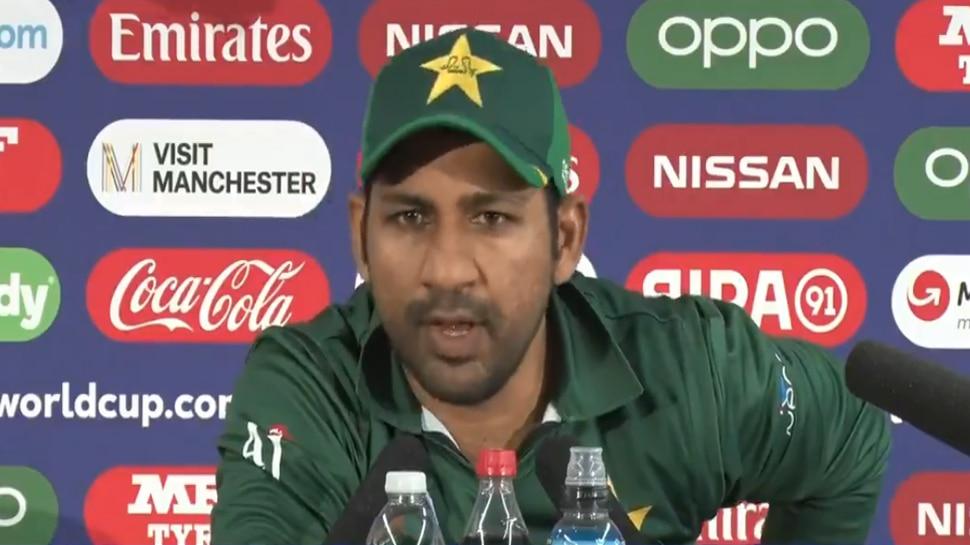 World Cup 2019 : भारताविरुद्धच्या पराभवानंतर सरफराज पाकिस्तान टीमवर संतापला