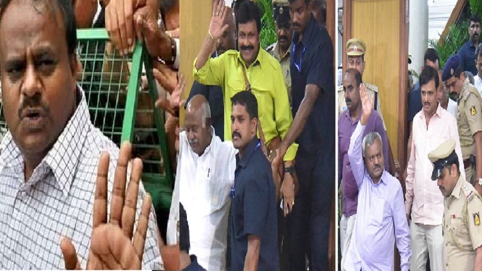 कर्नाटक संघर्ष : मुख्यमंत्री कुमारस्वामी विश्वासदर्शक ठराव मांडण्याच्या तयारीत