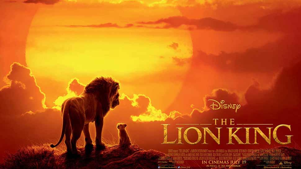 'सिम्बा-द लायन किंग' चित्रपटाची पहिल्याच दिवशी दमदार कमाई