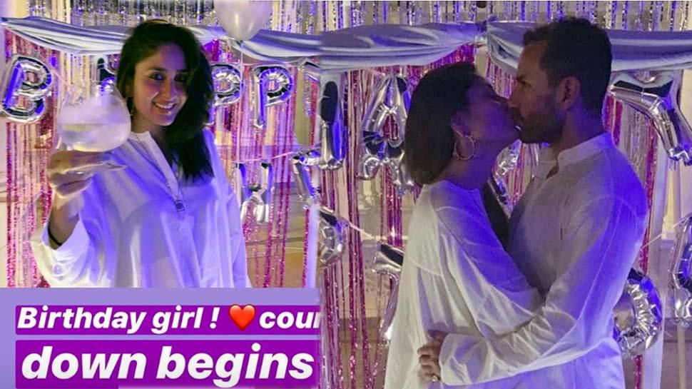 करिना कपूरने 'Kiss of love'सोबत साजरा केला वाढदिवस