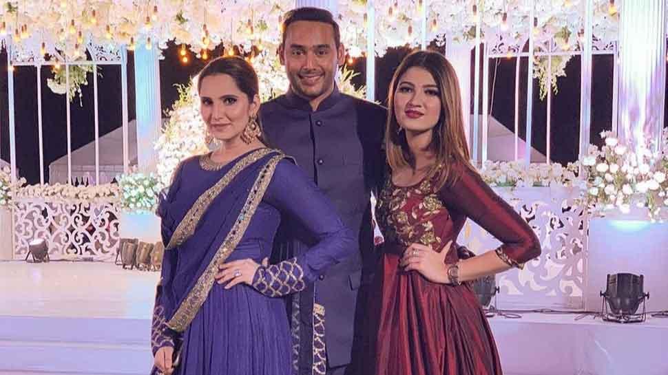 सानिया मिर्झाची बहिण या क्रिकेटपटूच्या मुलाशी लग्न करणार!