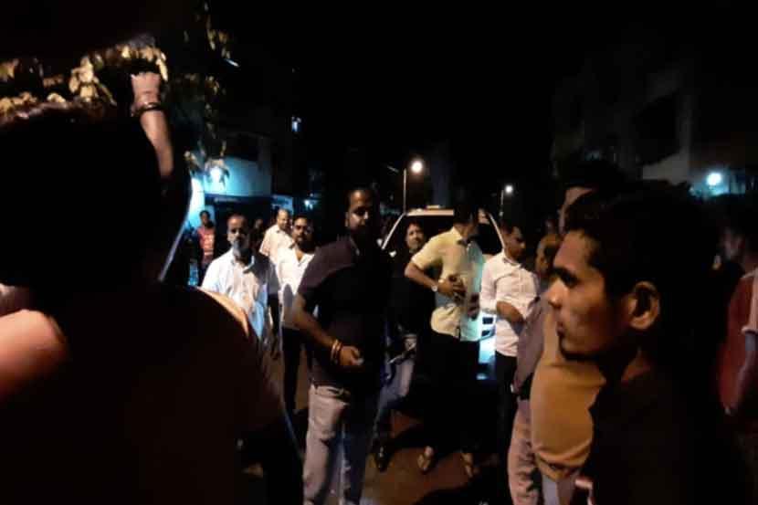 प्रदीप शर्मा यांच्यासोबत गुंडांच्या गाड्या; बविआचा आरोप
