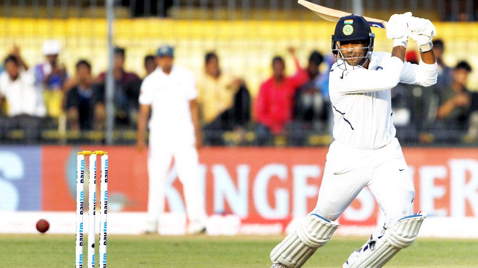इंदौर कसोटीत मयांकचं द्विशतक; भारताकडे ३४३ धावांची भक्कम आघाडी