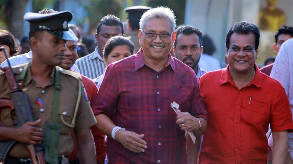 श्रीलंका अध्यक्षीय निवडणुकीत गोताबाया राजपक्षे विजयी