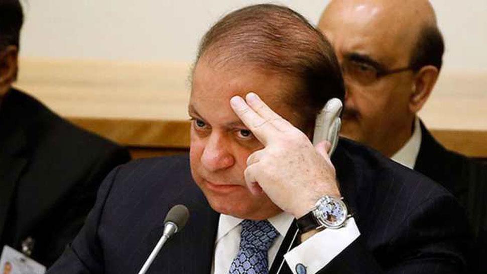 पाकिस्तानचे माजी पंतप्रधान नवाज शरीफ फरार घोषित