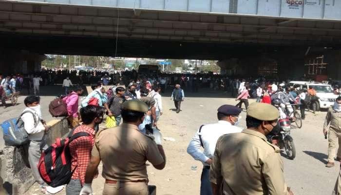 Coronavirus : मुंबईत अडकलेले २४४२ कामगार गावी परतले
