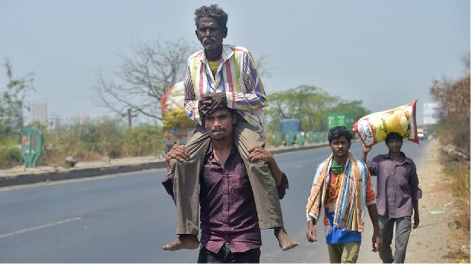 मजूर सोडून जात आहेत... मुंबई... 'जशी रावणाची दुसरी लंका'