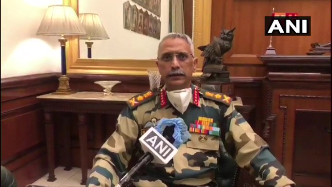 भारत- चीन सैन्यांमधील तणावाबाबत लष्कर प्रमुखांचा मोठा खुलासा