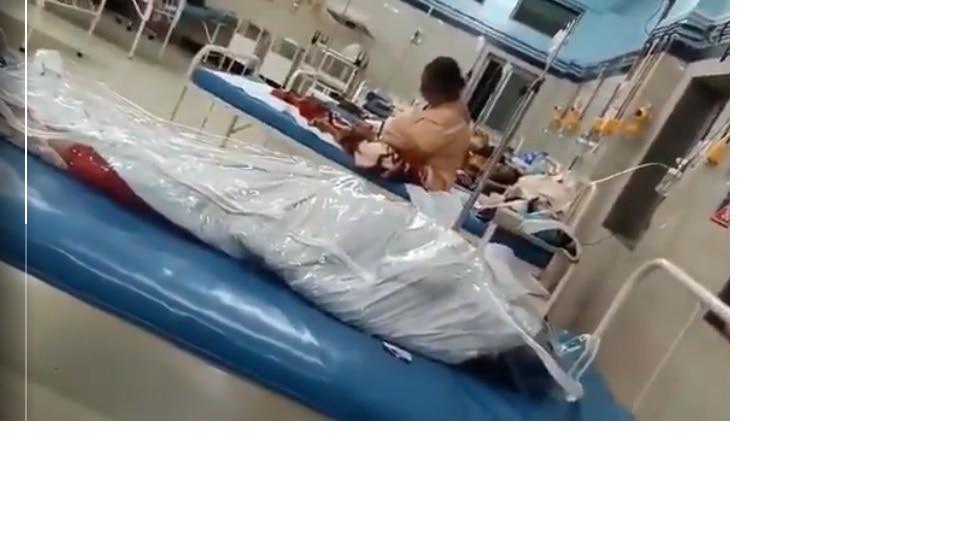 राजावाडी रुग्णालयात पडून असलेल्या कोरोना मृतदेहाबाबतचे वास्तव