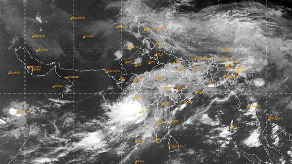काऊंटडाऊन सुरु : दुपारी 'या' वेळेत अलिबाग, मुंबई किनाऱ्यावर 'निसर्ग' धडकणार