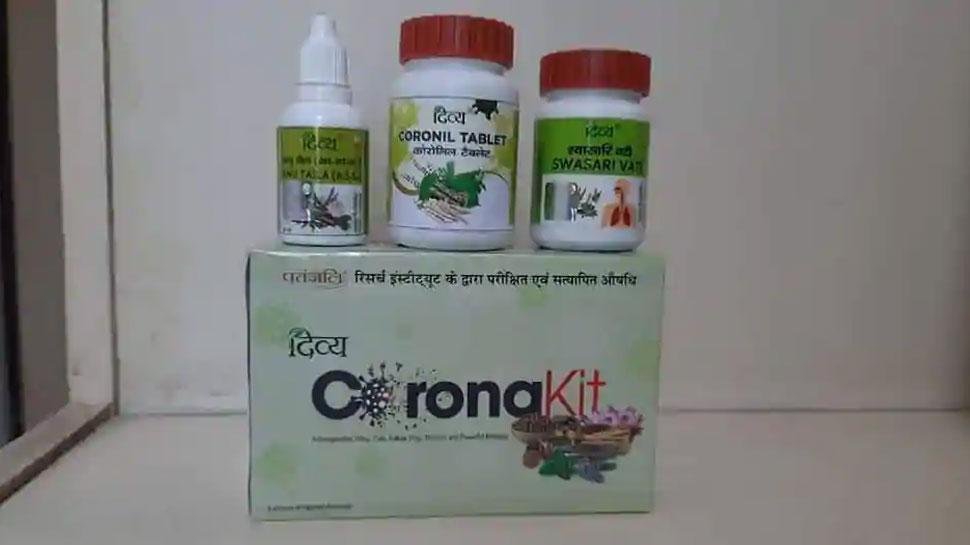 कोरोनावर औषध बनवलंच नाही; नोटीस येताच पतंजलीचा यू-टर्न