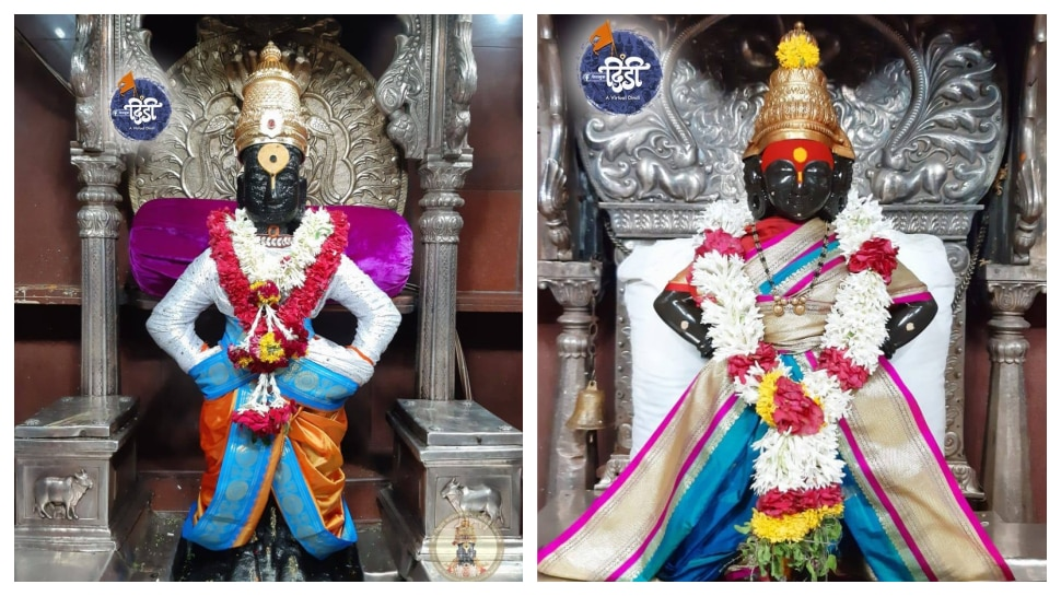 महाराष्ट्राचे आराध्य दैवत विठ्ठल रूक्मिणीच्या पुजेसाठी मुख्यमंत्री कारने रवाना