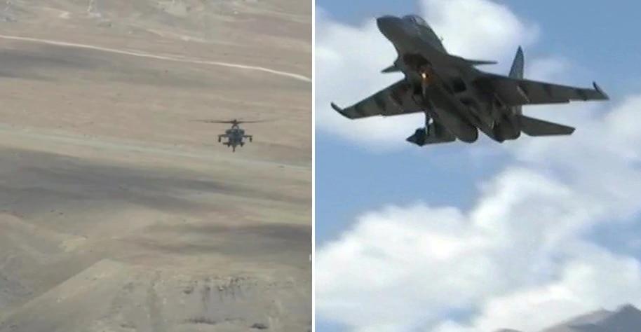 indiavschina : पाहा संघर्षाच्या काळात भारतीय वायुदलाच्या हवाई साहसाची झलक