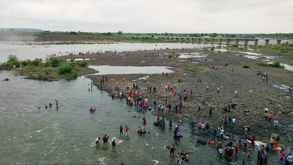 जनता कर्फ्यूचा फज्जा, अमरावतीच्या बगाजी सागर धरणावर पर्यटकांची गर्दी