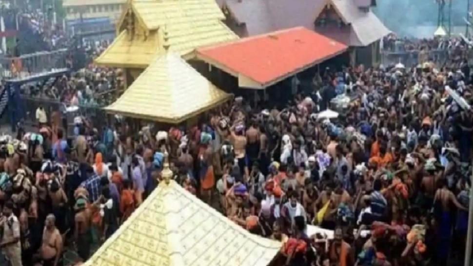 शबरीमाला मंदिर पाच दिवस पुजेसाठी खुलं