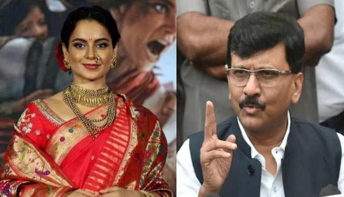 Indian politics- sanjay raut and kangana twitter war
