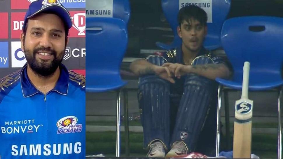 IPL : सुपर ओवरला ईशान किशनला का नाही पाठवलं? कॅप्टन रोहितने दिलं उत्तर