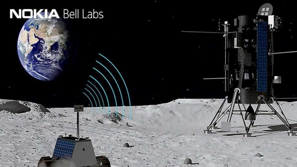 आता चंद्रावर 4G : NASA ने दिलं Nokia ला कॉन्ट्रॅक्ट