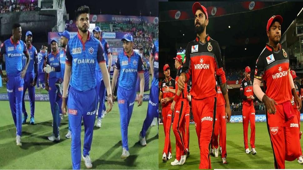 IPL 2020: दिल्ली आणि बंगळुरु मध्ये नंबर 2 साठी कांटे की टक्कर