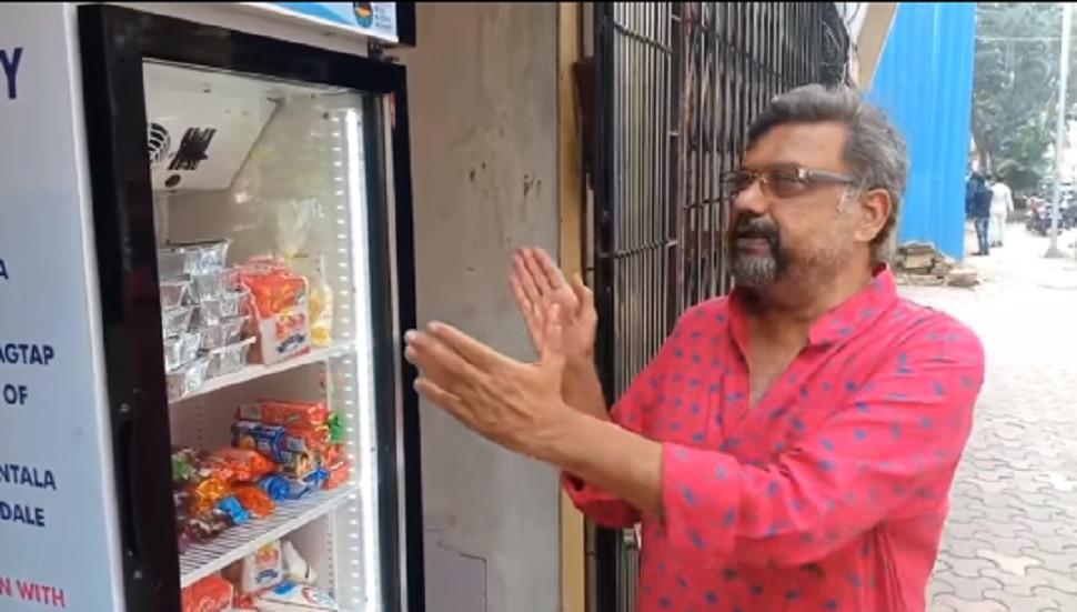 Video : 'माणुसकीचा फ्रिज' भरलेला ठेवण्यासाठी संजय मोने प्रयत्नशील