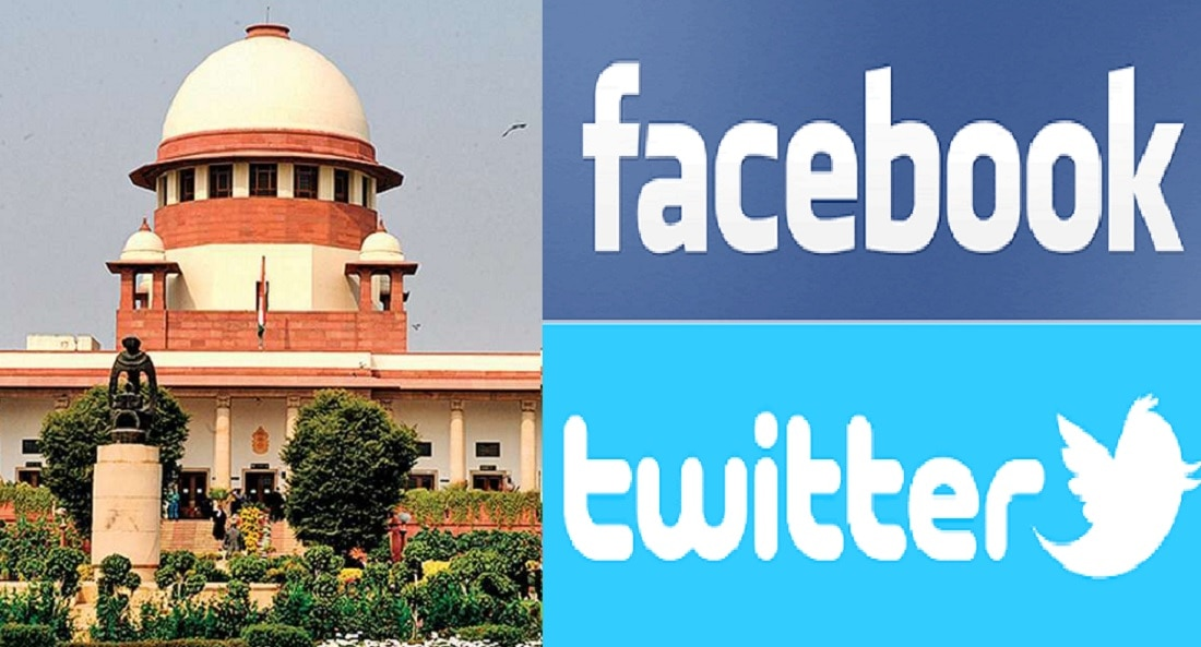 सोशल मीडिया कायद्याच्या कक्षेत येणार, सुप्रीम कोर्टाची ट्विटर, फेसबुकला नोटीस