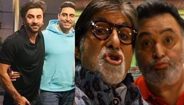 Rishi Kapoor असं ठेवायचे Ranbirवर लक्ष, Abhishek Bachchan कडून खुलासा
