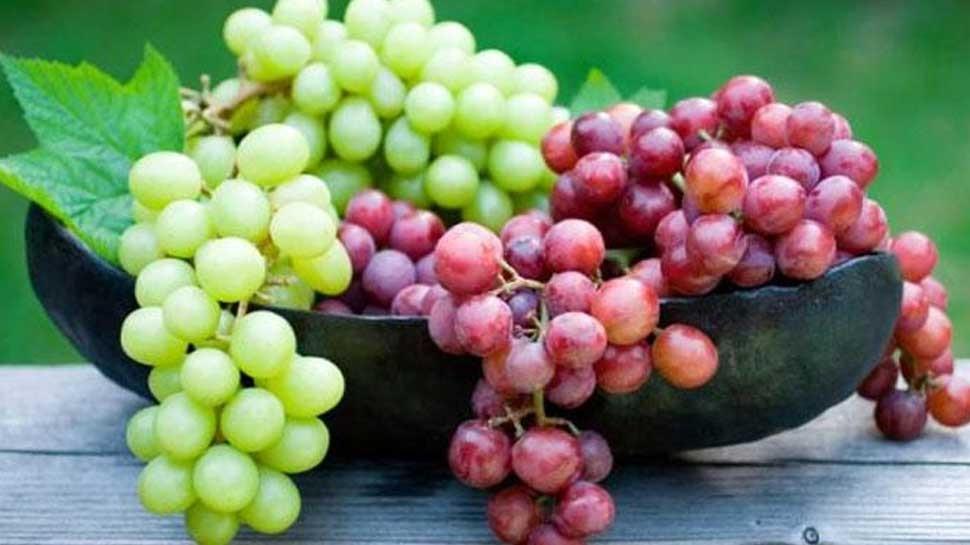 उन्हाळ्यात द्राक्ष आरोग्यास लाभदायक; जाणून घ्या फायदे