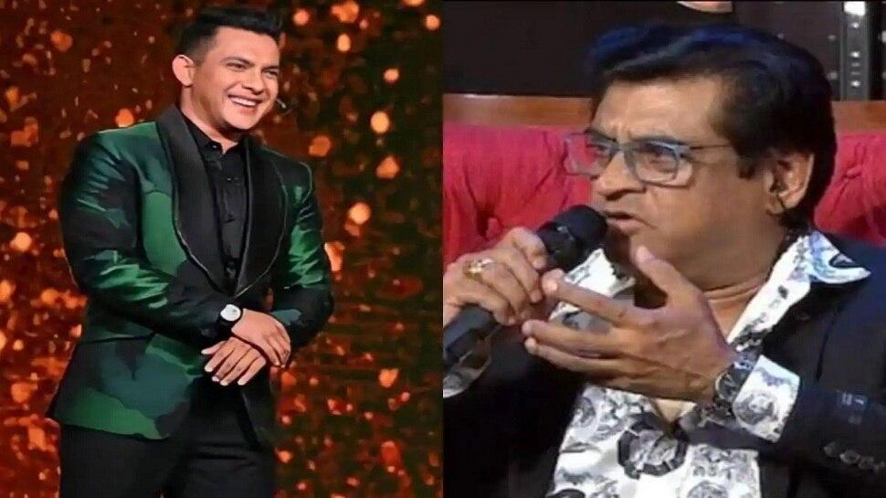 Indian Idol 12 : 'काही अडचण होती तर अगोदर बोलायला हवं होतं', अमित कुमार यांच्या वक्तव्यावर आदित्य हैराण