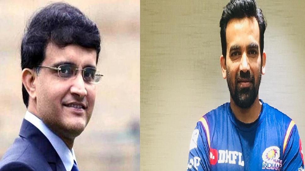 जहीर खानची टीम इंडियात निवड या माजी खेळाडूच्या एका फोनवर - सौरव गांगुली