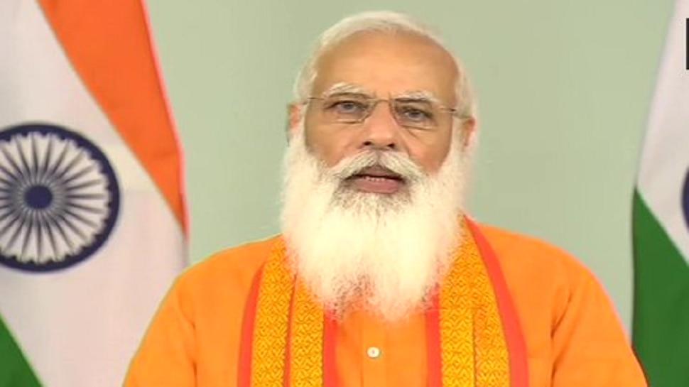 कोरोना विरुद्धच्या लढाईत 'योग'चा सिंहाचा वाटा- पंतप्रधान मोदी
