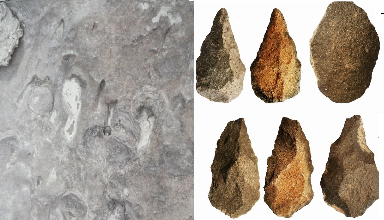 दख्खनच्या परिसरात आदिमानवांच्या पाऊलखुणा, 3 ते 4 लाख वर्षांपूर्वीची आढळली हत्यारं
