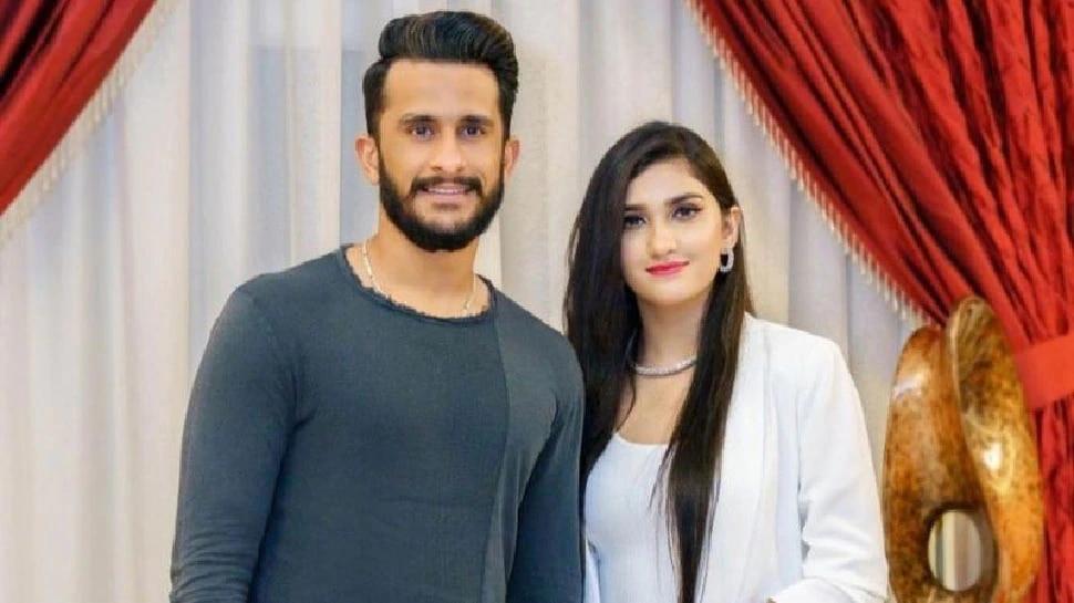 हसन अली आणि पत्नी शामिया आरझू