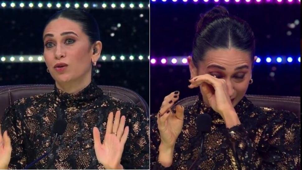 Super Dancer Chapter 4 : शिल्पा शेट्टीच्या एक्झिटनंतर करिश्मा ढसा-ढसा रडली