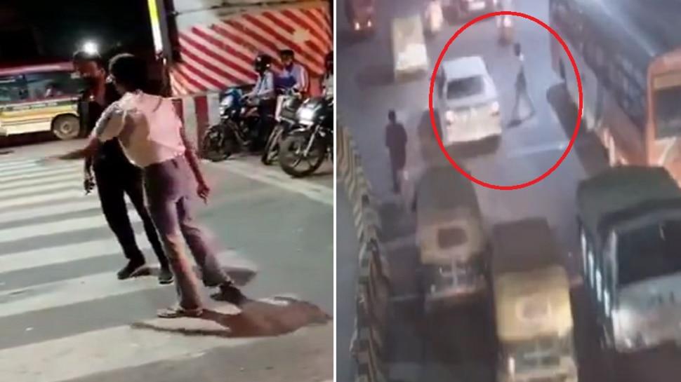 Cab Driverला मारणाऱ्या महिलेच्या व्हिडीओ मागचं धक्कादायक सत्य समोर