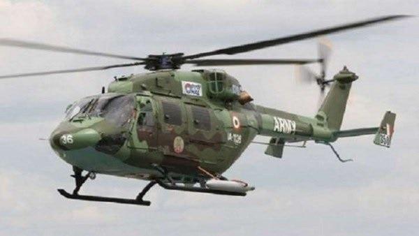भारतीय सैन्यदलाचं हेलिकॉप्टर कोसळलं, दोन पायलट बेपत्ता